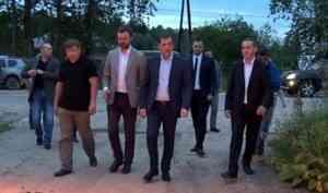 Глава области— Александр Цыбульский побывал вШенкурском районе