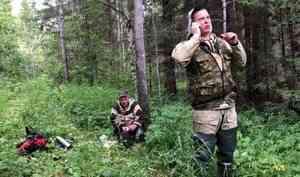 В Холмогорском районе спасатели помогли грибнику выбраться из леса