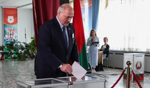 Стали известны предварительные результаты выборов президента Белоруссии