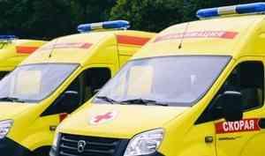 Три человека пострадали в ДТП на автодороге М-8 в Архангельской области