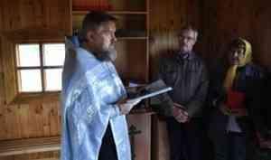 Православные северодвинцы посетили поморскую Солзу и провели там миссионерскую акцию