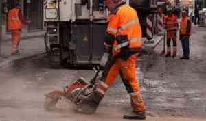 В Архангельске в 2020 году отремонтируют 19 км дорог