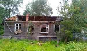 ВАрхангельске горели две нежилые «деревяшки»