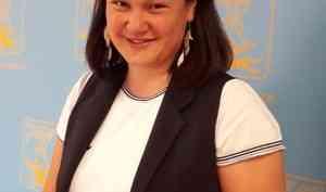 Архангельскую молодёжь «возглавила» Кира Рыженкова