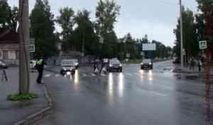 ВАрхангельске— акция «Безопасность движения»