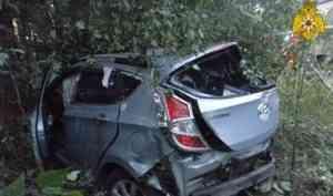 В Пинежском районе в ДТП пострадали три девушки