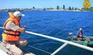 Инспекторы ГИМС Республики Крым проводят профилактическое патрулирование акватории Чёрного моря для обеспечения безопасности