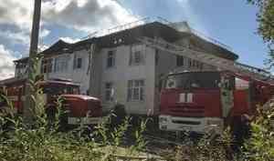 «Сегодняже обеспечить маневренным жильём»: Александр Цыбульский иИгорь Скубенко побывали наместе пожара наЮжной вСеверодвинске