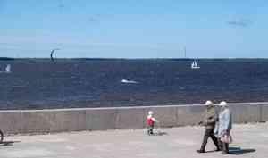 13 августа в Архангельске обещают дождь