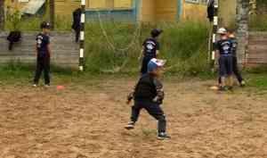 ВУстьянском раойне тренировки возобновили хоккейные дружины