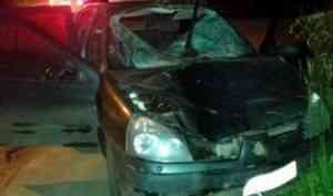 В Архангельске ночью под колесами иномарки погиб пешеход