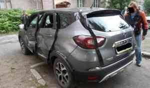 Что происходит сводителем имашиной, если внутри авто взрывается газ: фото ивидео