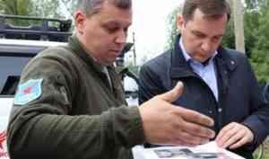 Александр Цыбульский посетил военно-патриотический клуб «Ратник»