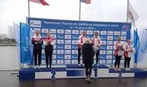 У Натальи Подольской - вторая медаль чемпионата России-2020