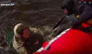 Северодвинск вдеталях. Страшная вода: как неутонуть идать спасателям помочь себе?