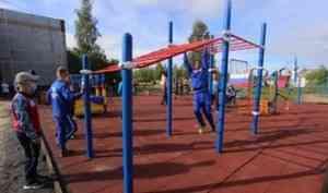 Доступная среда: спортивную площадку для параатлетов построили в Новодвинске