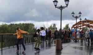 Путепровод «Горбатый мост» в Котласе открыт