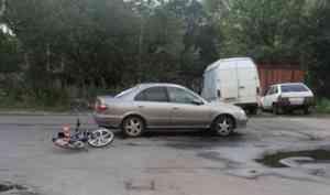 В Архангельске женщина на «Ниссане» сбила мальчика на велосипеде