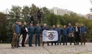 В Москве стартовал мотопробег пожарных и спасателей по местам воинской славы