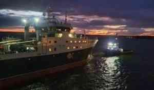 Архангельский тралфлот получил новый крупнотоннажный траулер