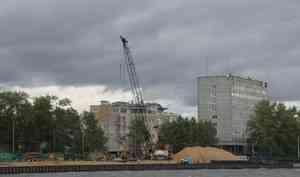 Закончить ремонт набережной Георгия Седова в Архангельске подрядчик планирует в 2021 году