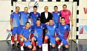 МЧС России одержало победу в товарищеском матче по мини-футболу против ФСО