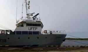 Траулер «Викинг» доставил вАрхангельск более 230 тонн трески, пикши изубатки