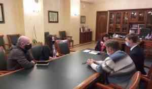 В САФУ обсудили сотрудничество с клубом исторической реконструкции «Рыкарь»