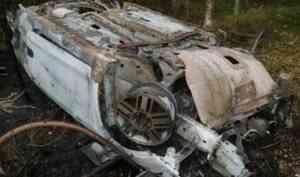 В Вельском районе пьяный водитель без прав и его пассажир сильно пострадали в ДТП