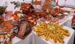 В Архангельске начали работать торговые точки Маргаритинской ярмарки