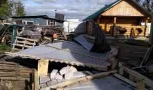 Из-за шторма котлашане остались без дома на неопределенное время