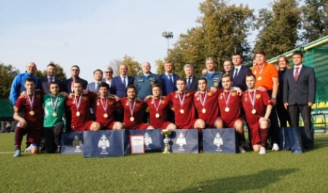 Чрезвычайное ведомство заняло два призовых места в турнире по мини-футболу среди Министерств России