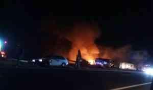 Под Харьковом разбился самолёт с военными, есть погибшие
