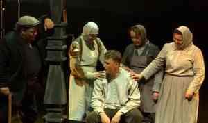 Архангельский театр драмы открыл 88-й сезон спектаклем «Пряслины. Две зимы и три лета»