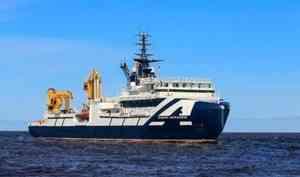 ВСеверодвинск изпохода вАрктику вернулся «Академик Александров»