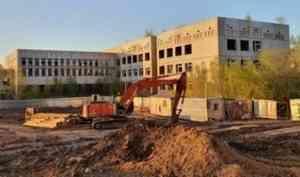 Недостроенную школу на Первомайской улице в Архангельске снесут