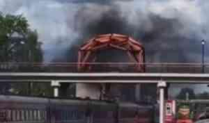 Очень странный арт-объект: котлашане возмущены ремонтом горбатого моста