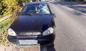 В Вельске водитель иномарки насмерть сбил переходящего дорогу пенсионера