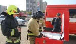 Хабаровские пожарные провели учения по ликвидации условного возгорания в здании железнодорожного вокзала