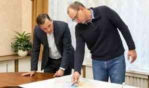 Александр Цыбульский оценил перспективы производственно-логистического комплекса «Архангельск»