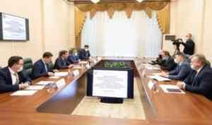 Александр Цыбульский провел встречу с главой МО «Новая Земля»