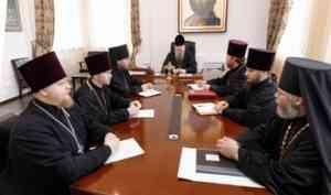 Митрополит Корнилий провел совещание с духовенством