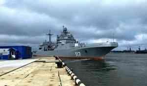 Напроходящем ходовые испытания десантном корабле для Северного флота произошла вспышка COVID-19