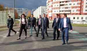 Александр Цыбульский посетил с рабочим визитом Северодвинск