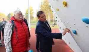 Скалодрому в Северодвинске будет присвоено имя альпиниста Михаила Ишутина
