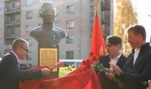 В Вельске открыли памятник Герою Советского Союза Григорию Шибанову