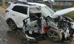 В Устьянском районе по вине пьяного водителя в аварии погиб человек