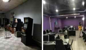 Стражи порядка пресекли деятельность подпольных казино в Котласе и Коряжме