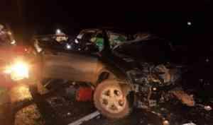В Котласском районе в результате столкновения внедорожника с «Камазом» погибли люди