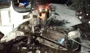 В Архангельске в ДТП с ПАЗиком погибла женщина